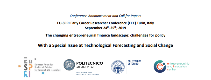 Conference on « The changing entrepreneurial finance landscape: challenges for policy»