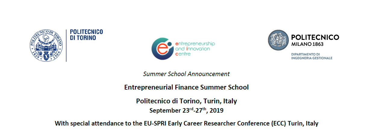 Entrepreneurial Finance Summer School