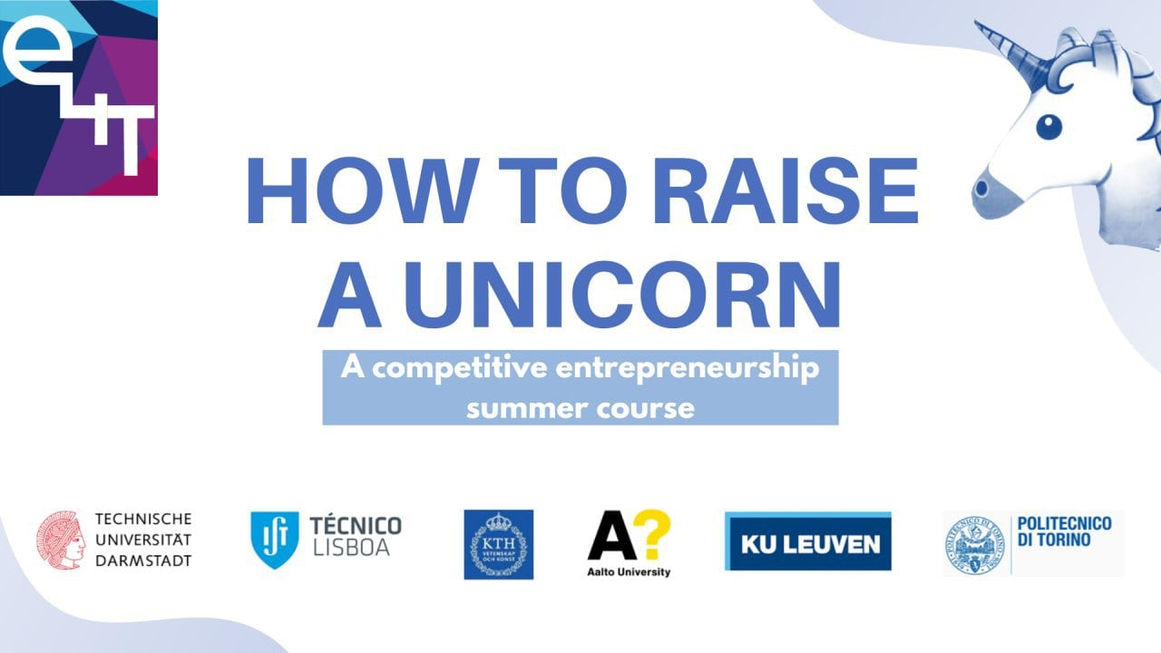 E4T Project | Raising a Unicorn